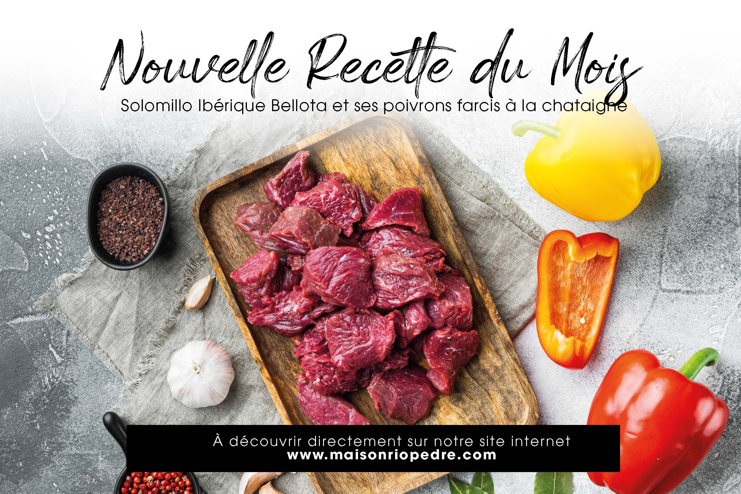 Recette facile de viande ibérique